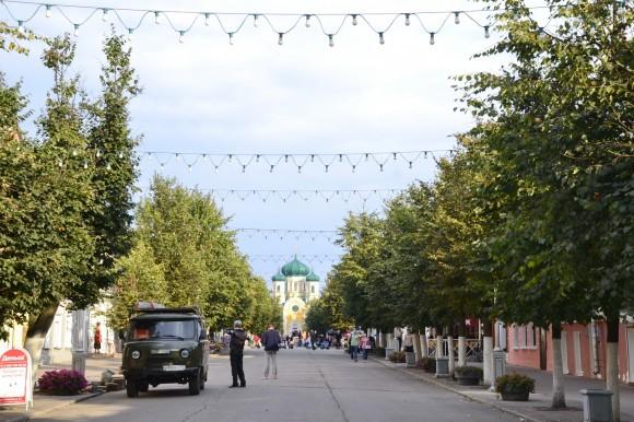 улица Соборная в Гатчине