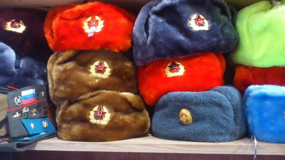Шапка-ушанка истинно русский сувенир