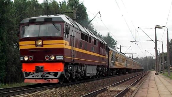 Поезд Петербург-Рига