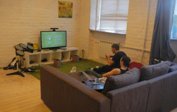 В GaGa можно поиграть в видеоигры