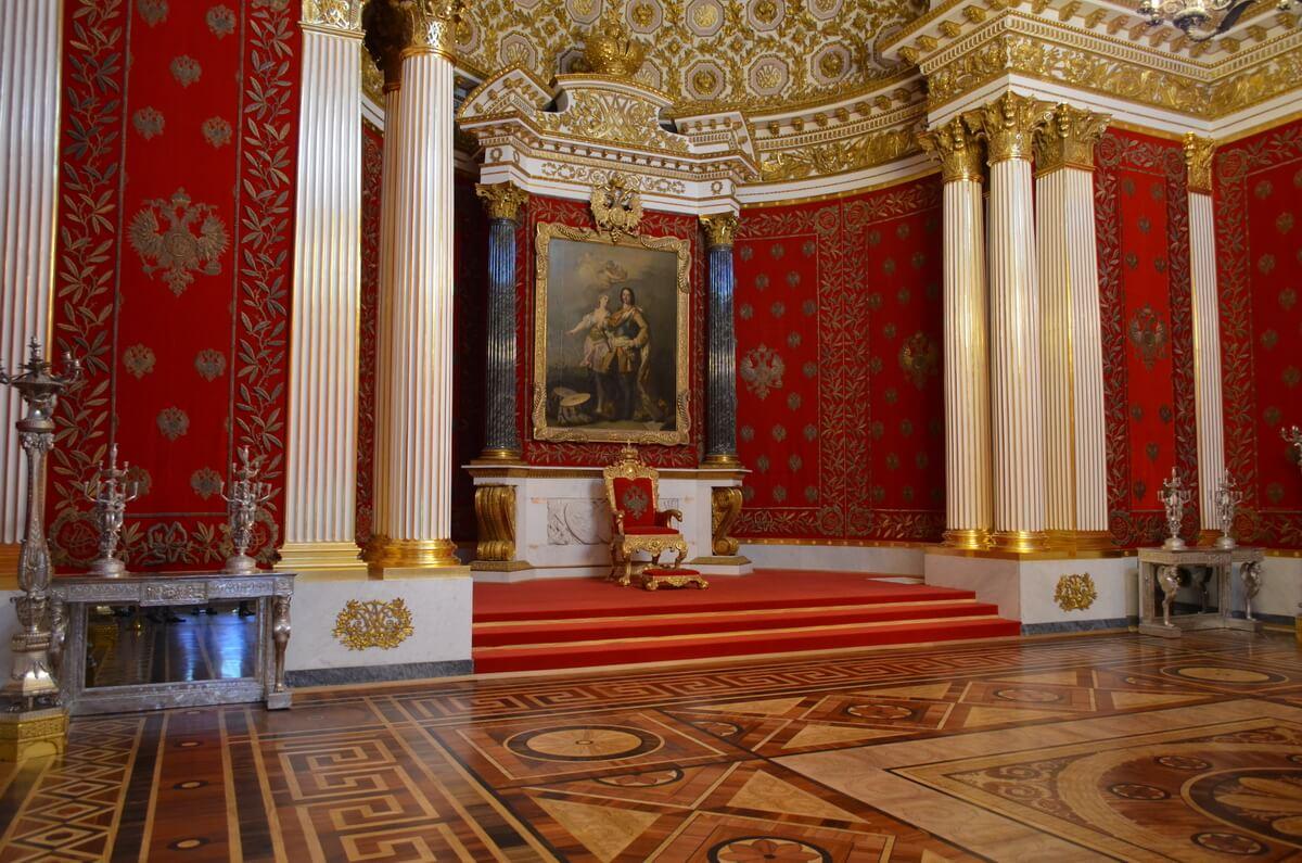 Малый тронный зал в Эрмитаже