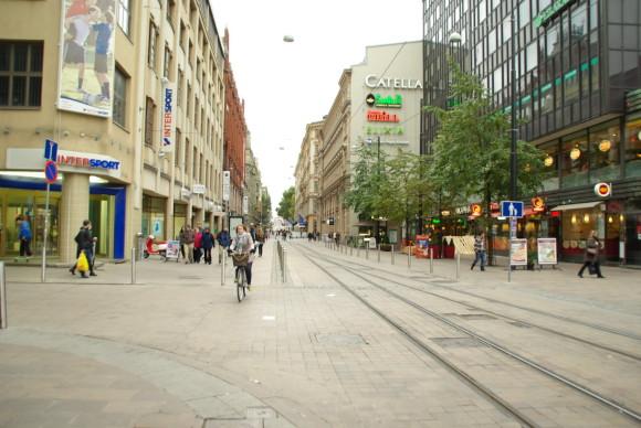 Торговые центры Хельсинки
