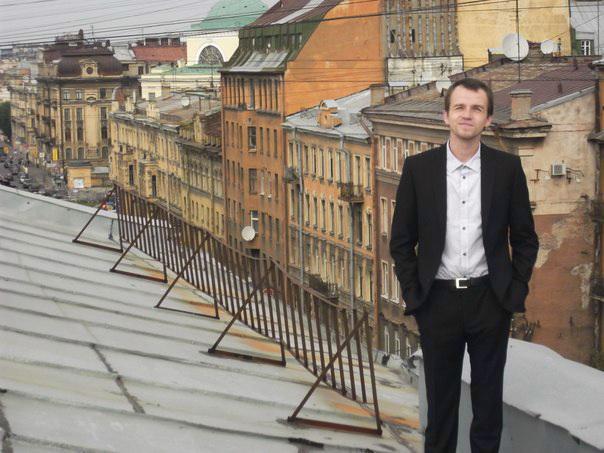 Алексей Старухин - экскурсовод по крышам