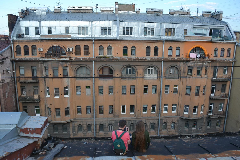 Свидание можно назначить и на крыше