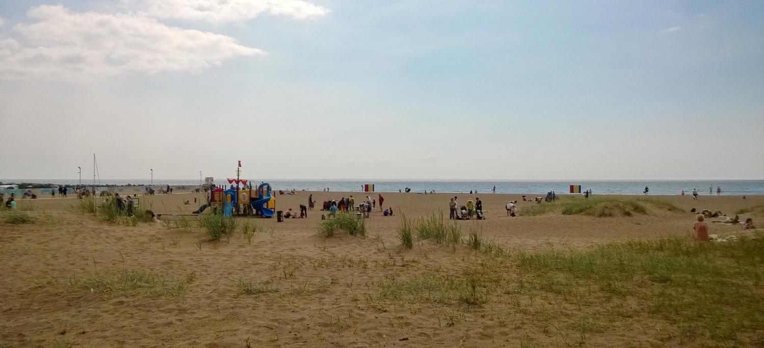 Зеленогорский пляж