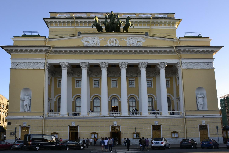 Александринский театр на пл. Островского
