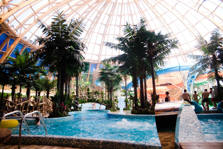 Piterland – самый большой из крытых аквапарков Петербурга