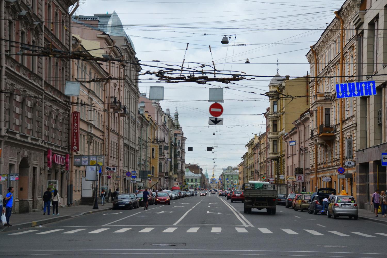 Гороховая улица - самый что ни на есть центр