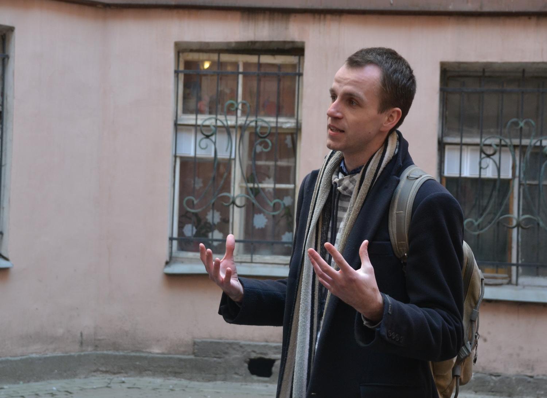 Экскурсовод Алексей Старухин