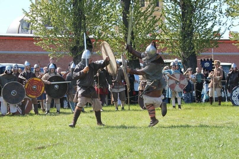 Бои викингов