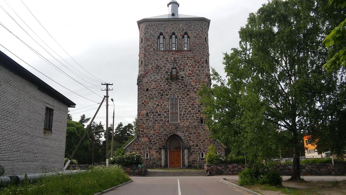 Лютеранская кирха Кякисалми