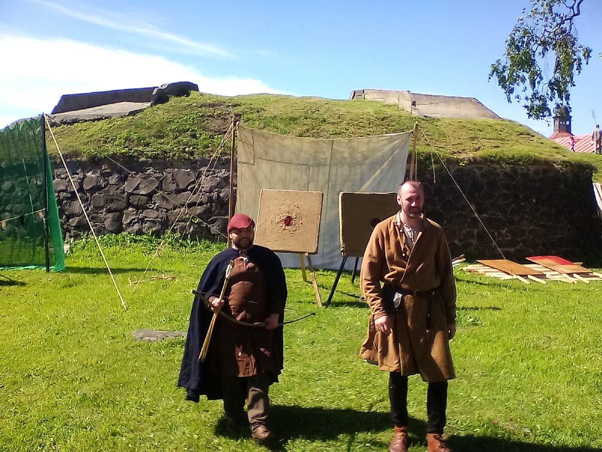 Исторические фестивали в крепости