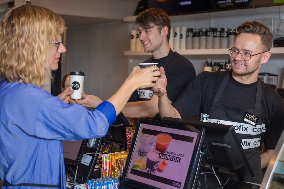 Кофейня Cofix