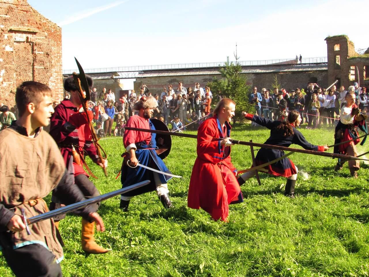 Битва в крепости Орешек