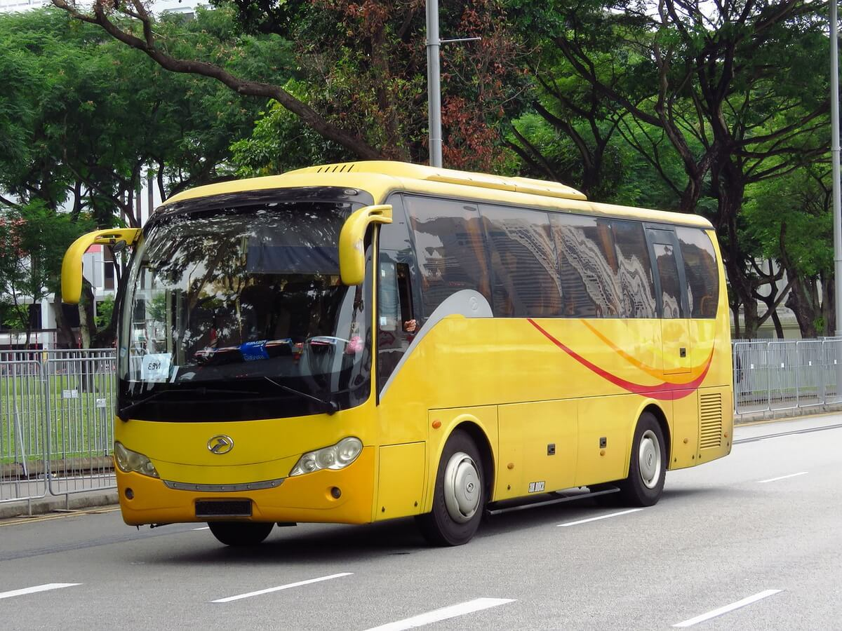 Автобус для гостей