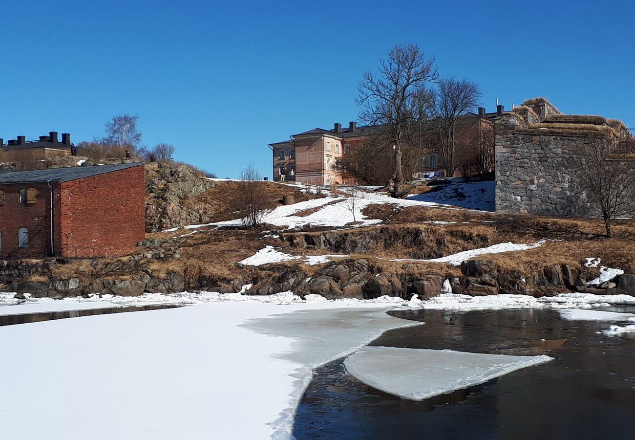 Крепость Suomenlinna