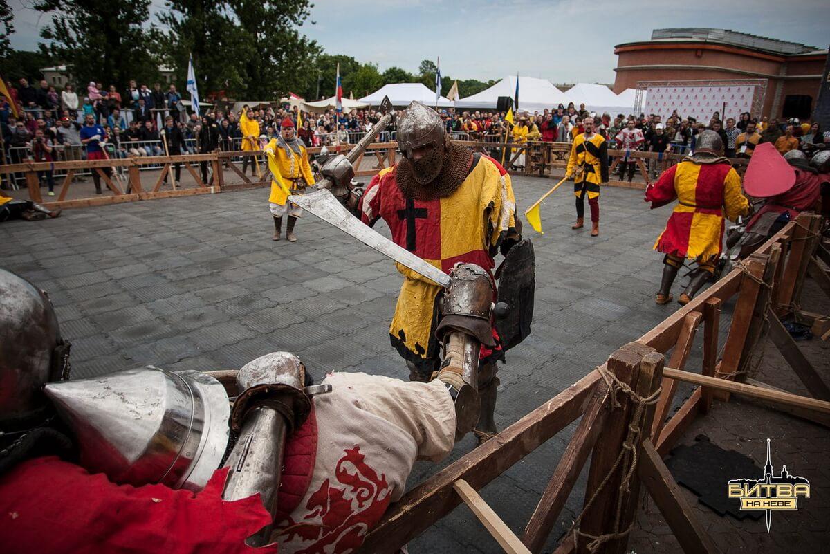 Фестиваль `Битва на Неве`