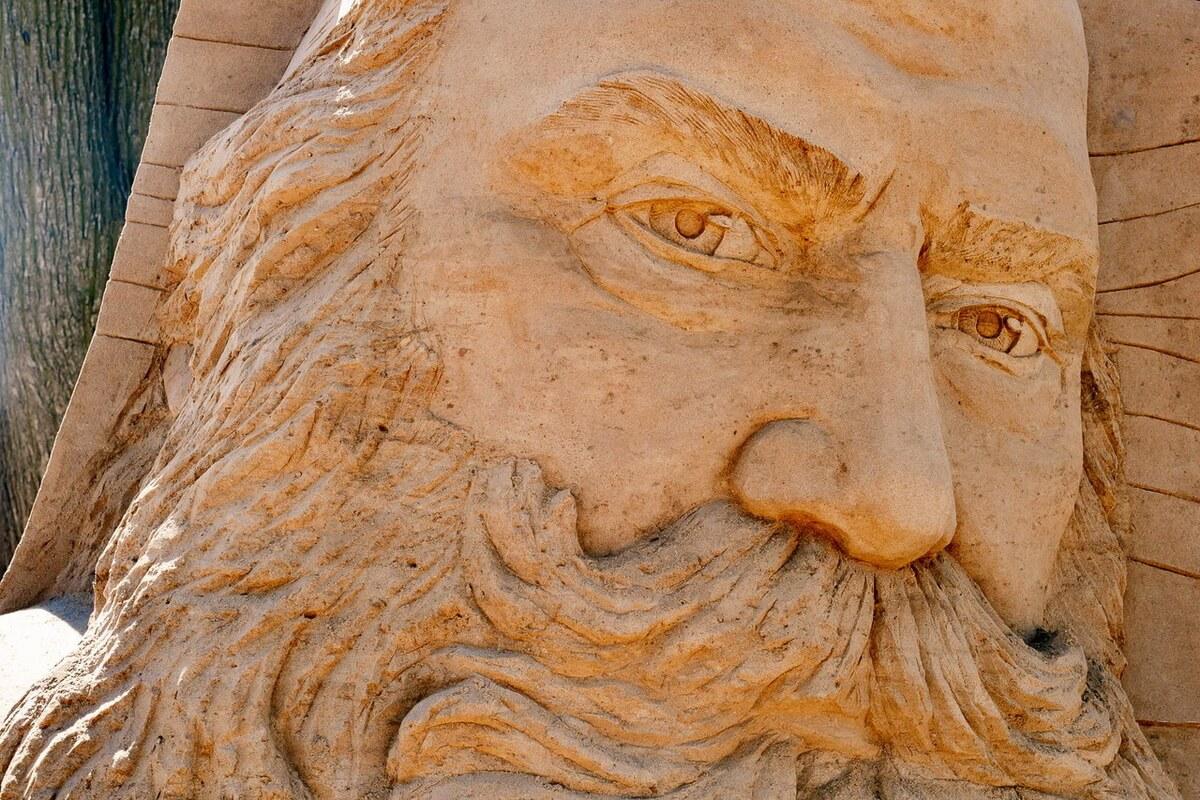Фестиваль Песчаных скульптур в Петропавловской крепости
