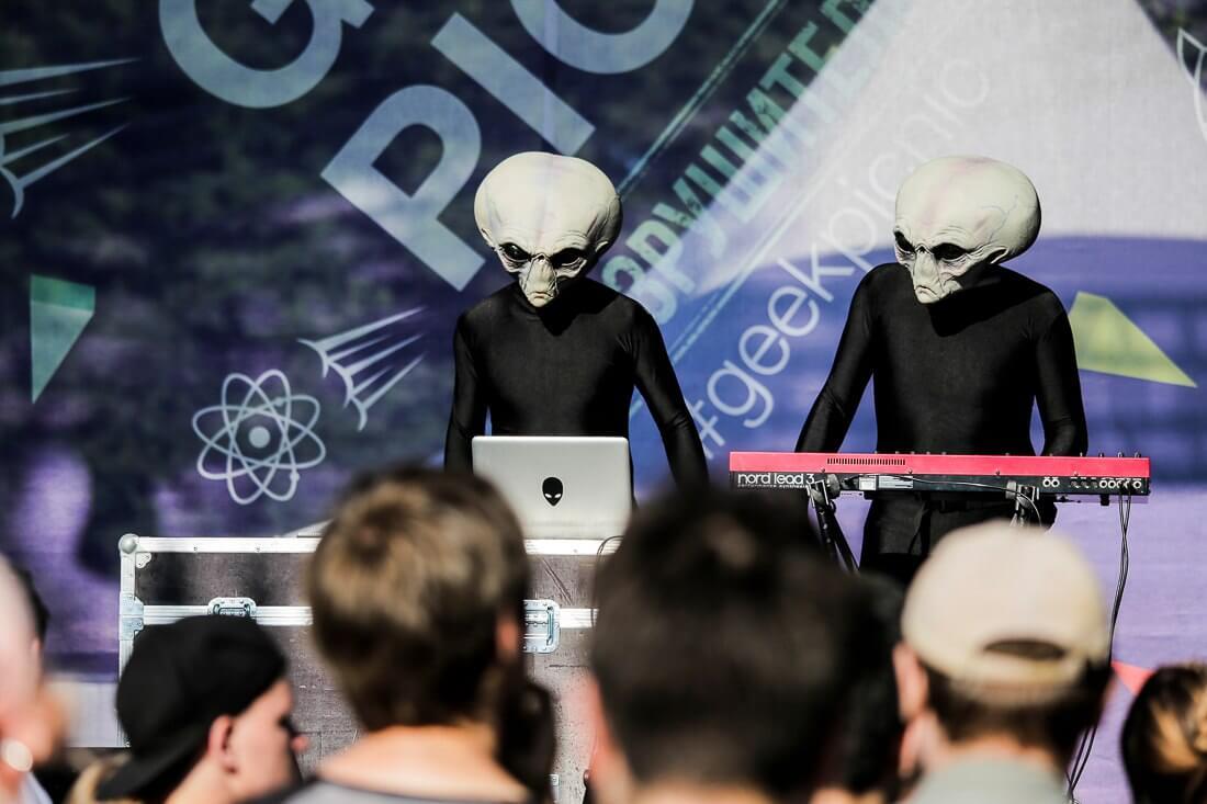Geek Picnic посещают даже инопланетяне
