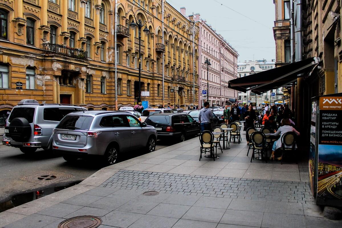 улица Рубинштейна, где находился легендарный ленинградский Рок-клуб