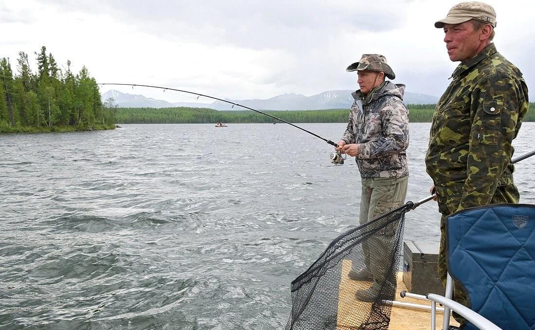 Путин - рыбак