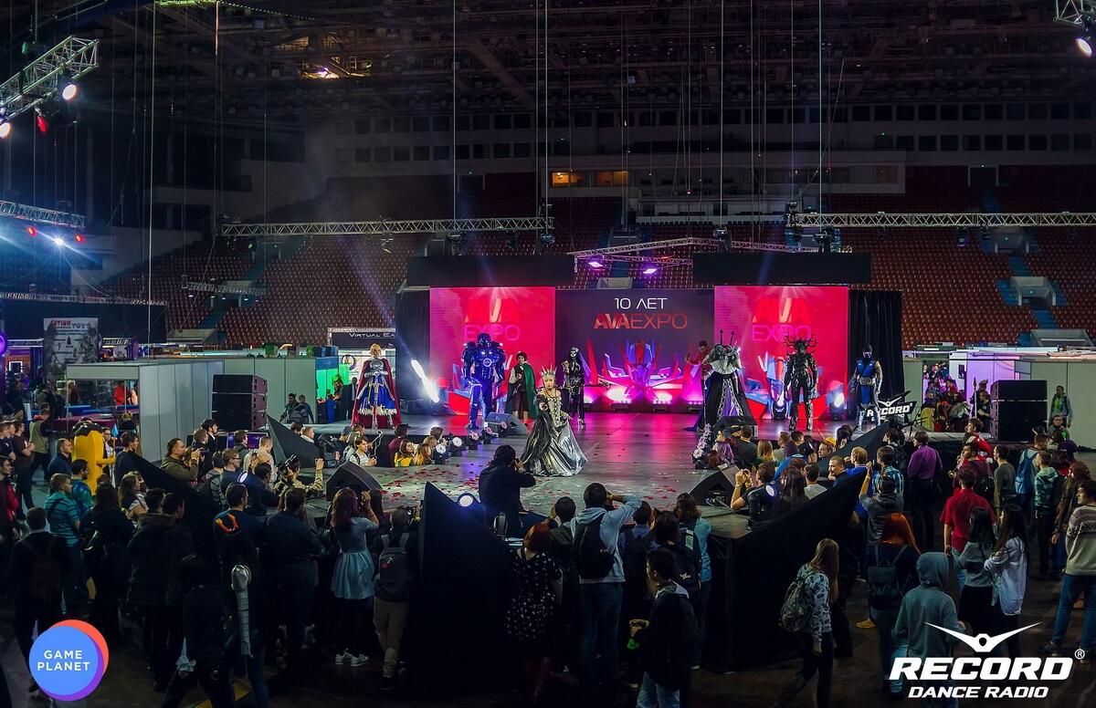 Game Planet 3.0 и Ava Expo в СКК