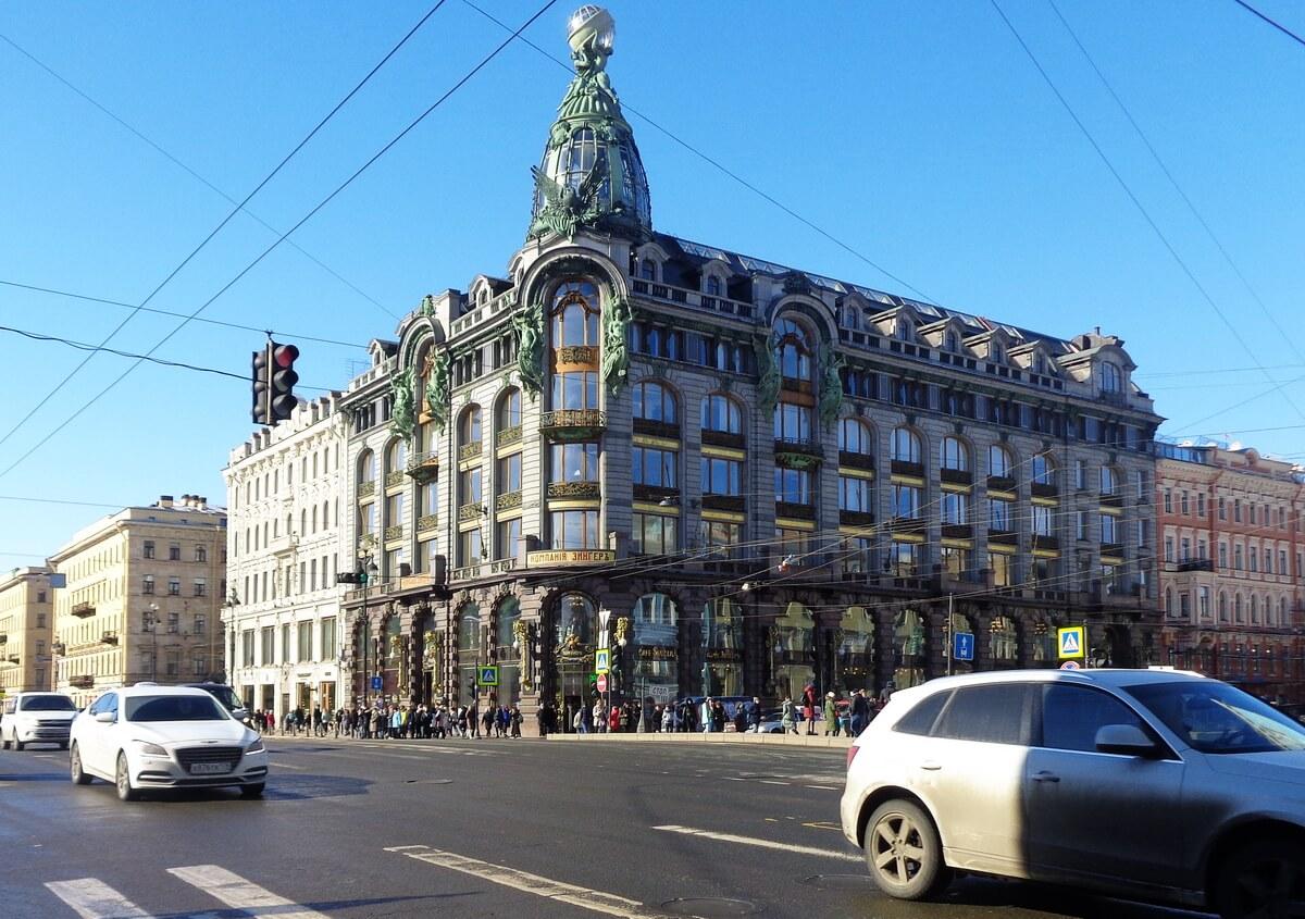 Дом Зингера на Невском