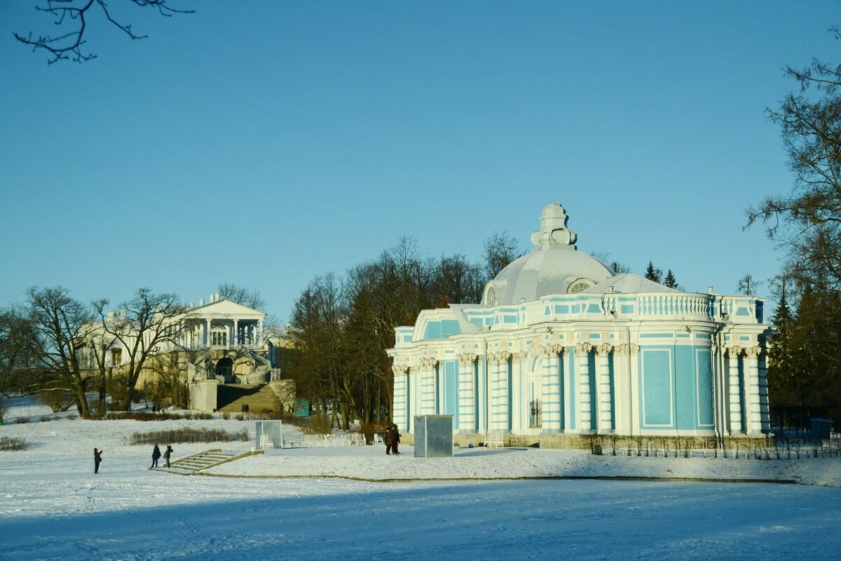 Екатерининский парк прекрасен в любое время года
