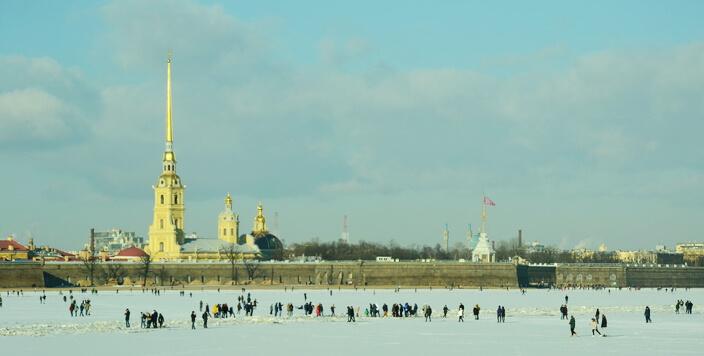 Петропавловка зимой