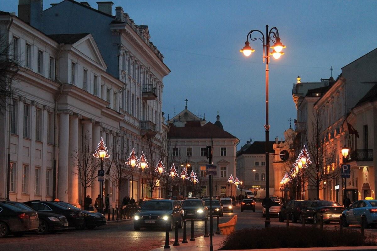 Новогодний Вильнюс