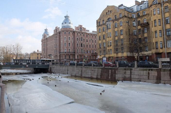 Петроградская сторона. Карповка