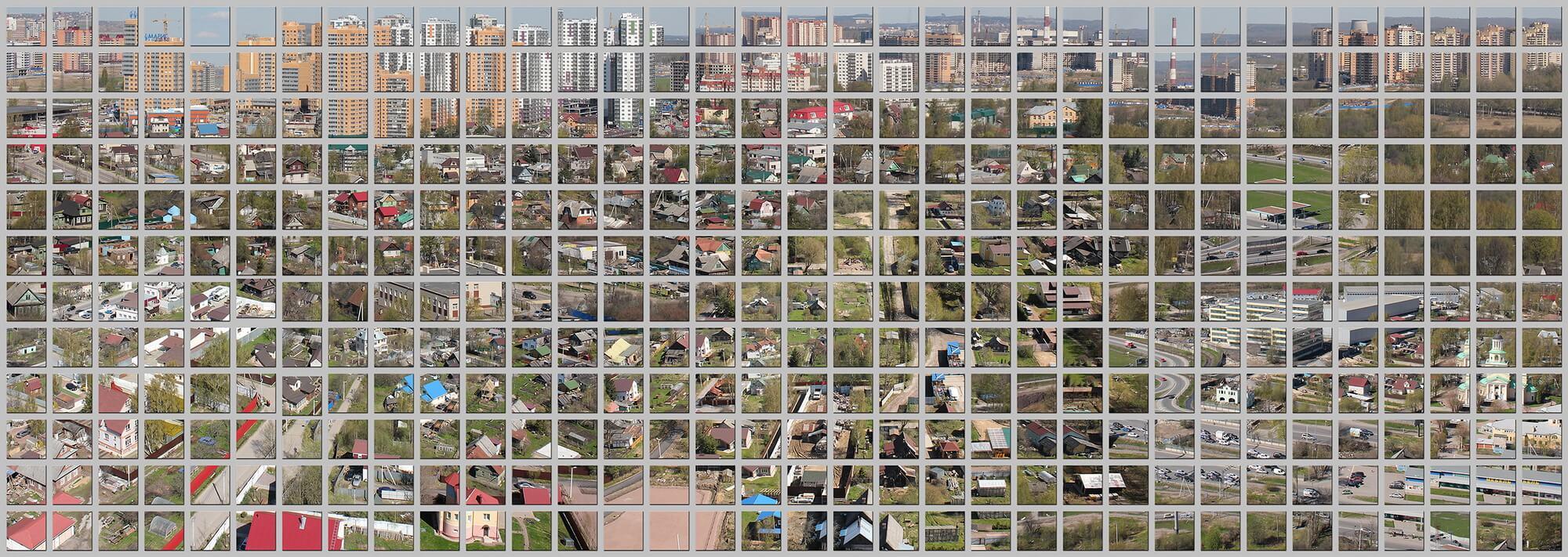 Экспозиция на выставке Digital Urbanism