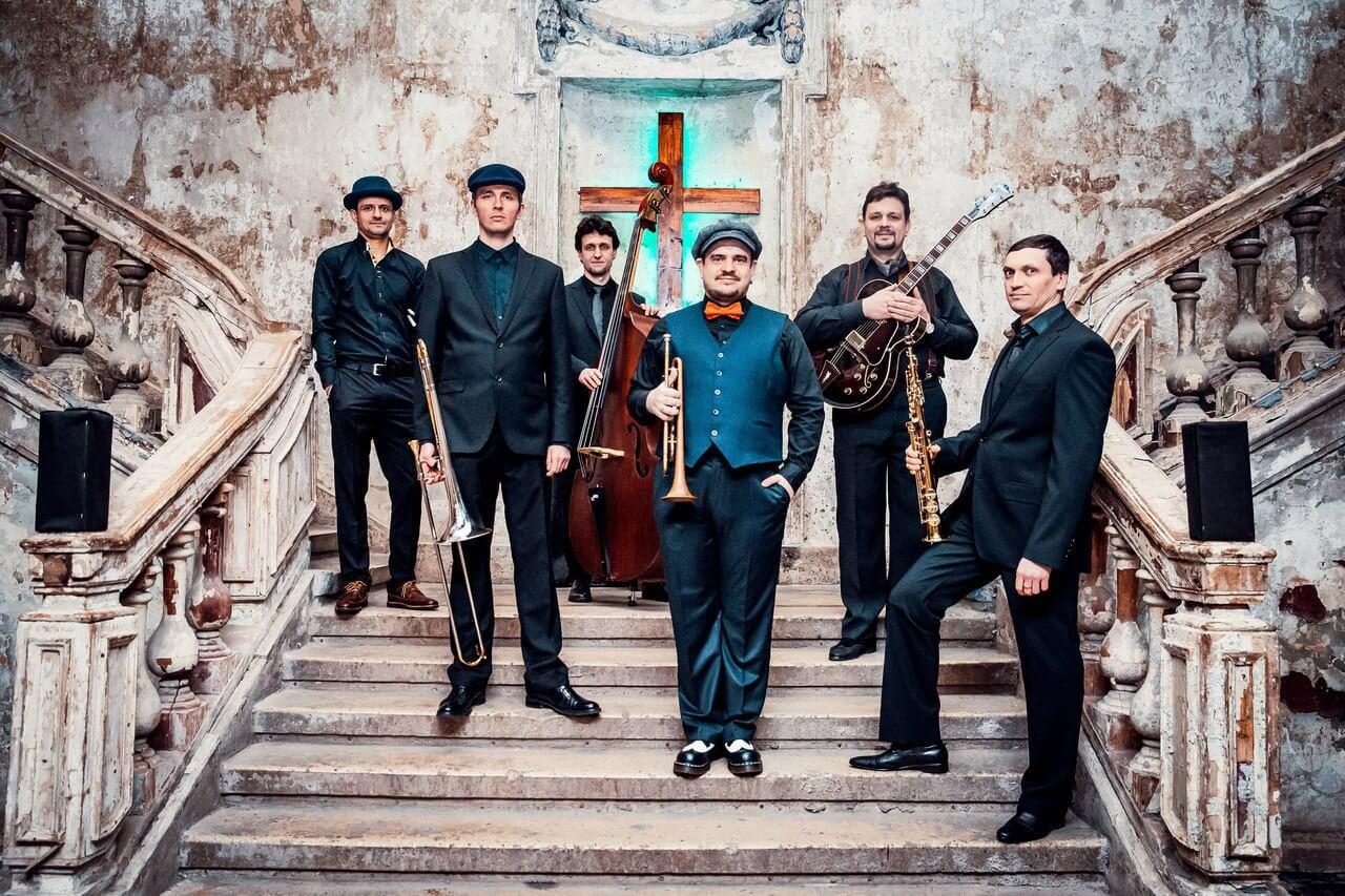 Sweet Hot Jazz Band - зажигательный джазовый коллектив
