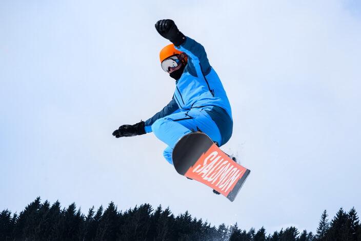Фестиваль `Зимние Норвежские игры` в `Охта парке`