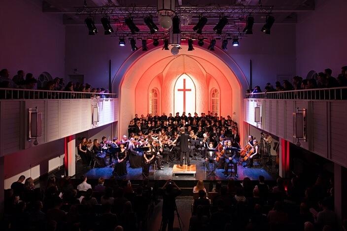 Концерт в Кирхе Яани Кирик