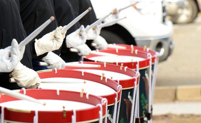 В параде на Невском примут участие тысячи барабанщиков