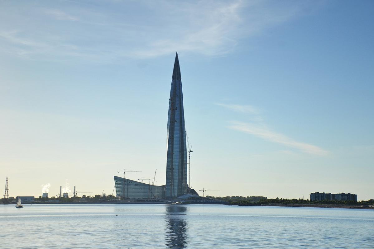 Башня Лахта-центра