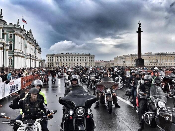 Мотофестиваль St Petersburg Harley Days