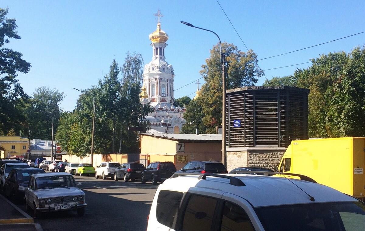 купола храма Светлого Христова Воскресения