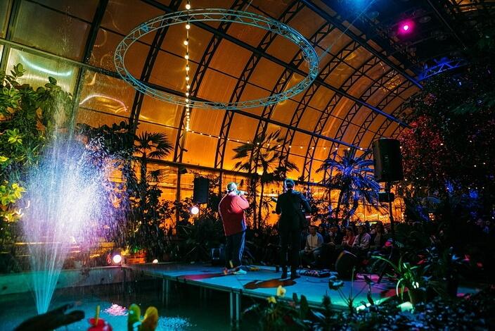 Концерт Чё Морале в Оранжерее Таврического сада