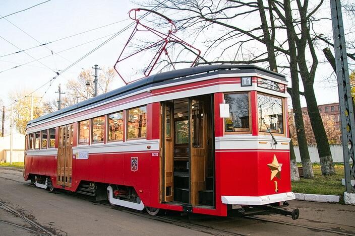 Экскурсионный трамвай `Американка`