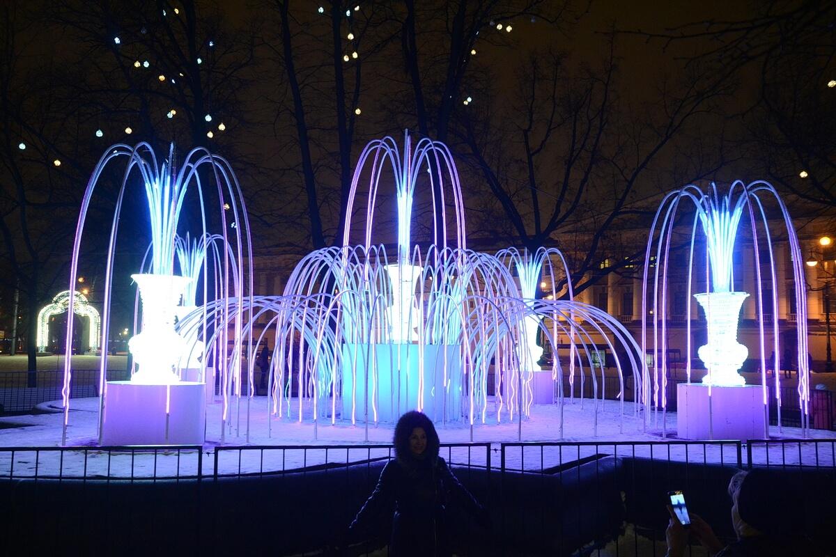 Ледяные фонтаны