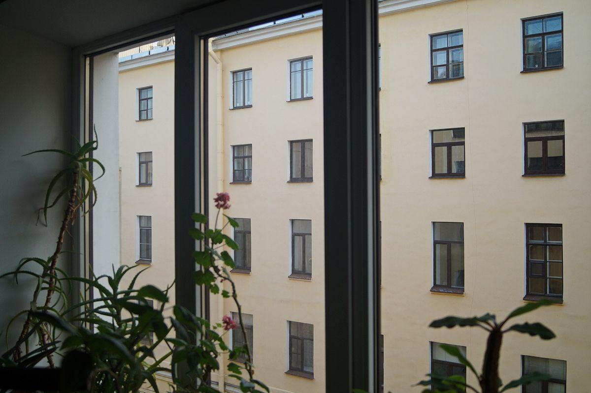 Окна Писательского дома