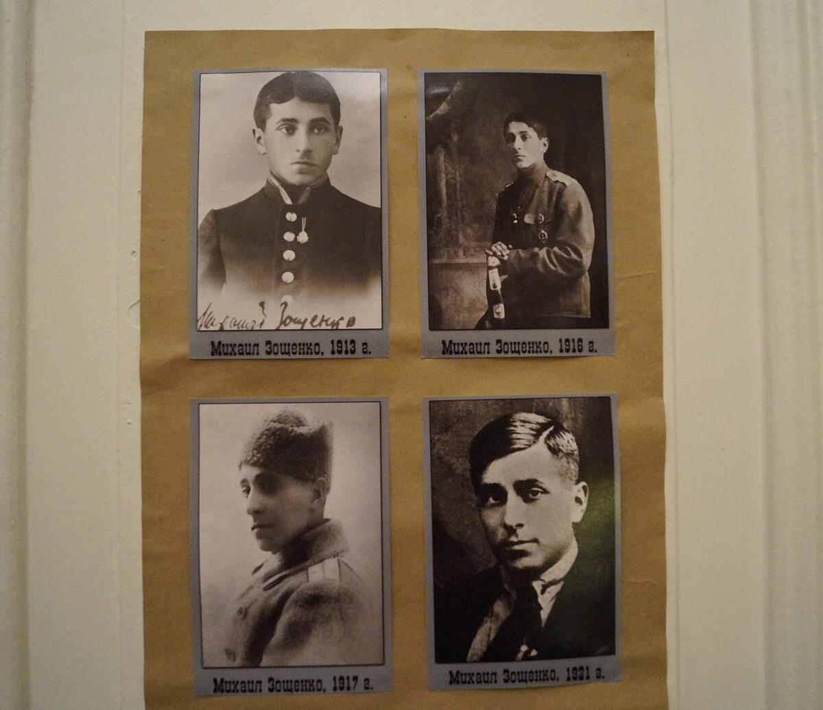 М.М. Зощенко в разные годы