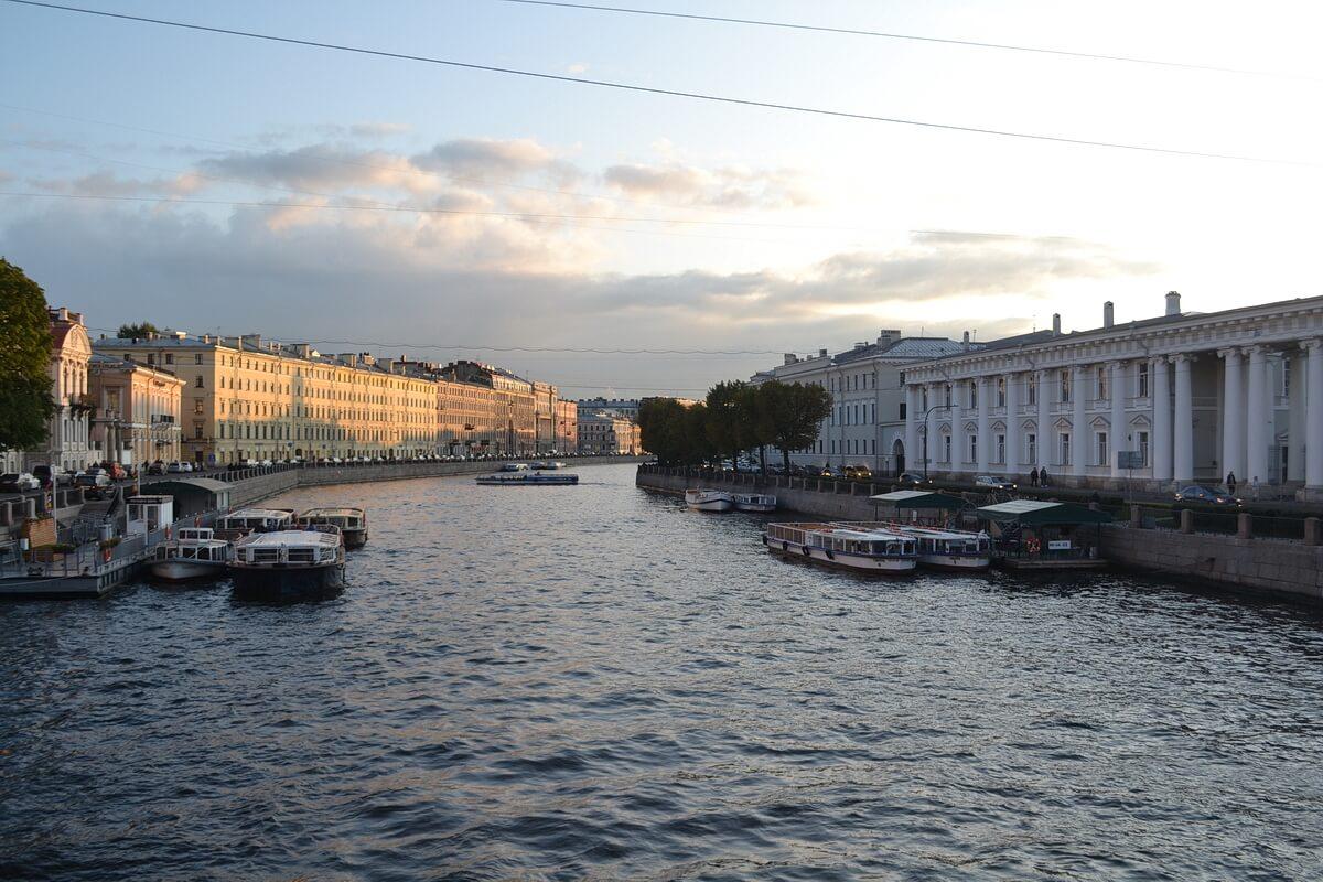 Фонтанка. Санкт-Петербург