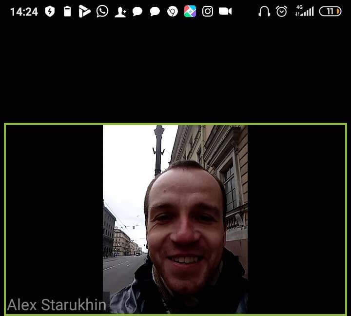 Алексей ведет экскурсию онлайн
