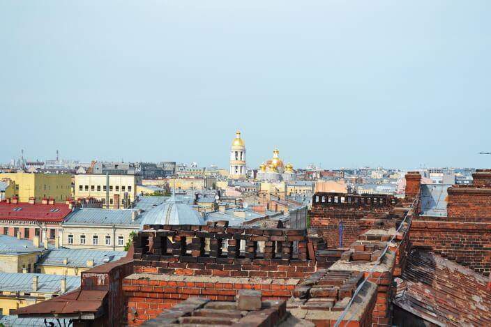 Крыши СПб