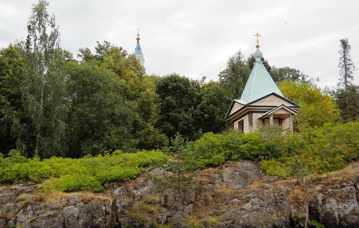 Покровская часовня на Валааме
