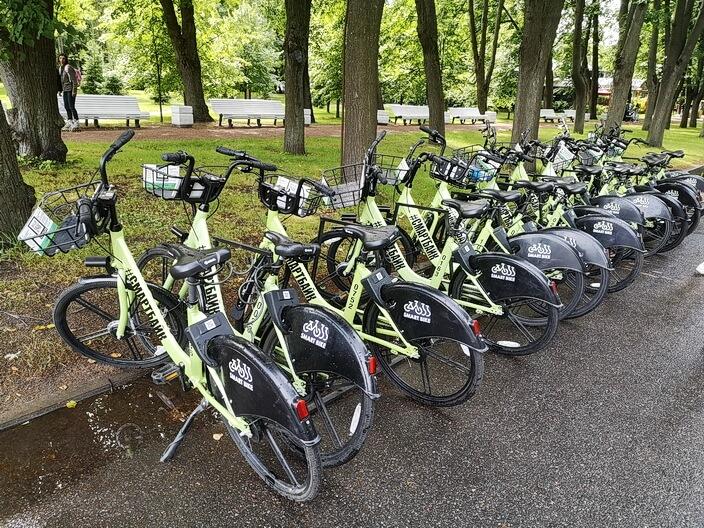 Парковка велосипедов Смарт Байк