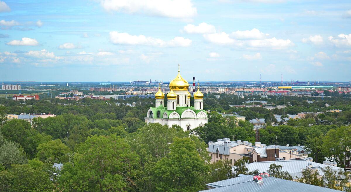 Купола Екатерининского собора